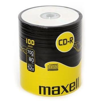 ДИСКИ CD-R Maxell 700MB 52x 100шт доставка товаров из Польши и Allegro на русском