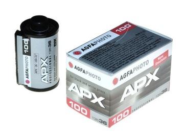 Agfaphoto Agfa APX 100/36 фильм BW для фотографий 04.2022 доставка товаров из Польши и Allegro на русском