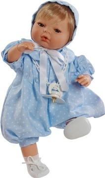 БЕРБЕСА интерактивная кукла Девочка 42см АУТЛЕТ  доставка товаров из Польши и Allegro на русском