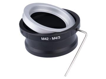 АДАПТЕР уменьшение M42 на micro M4/3 M43 ключ доставка товаров из Польши и Allegro на русском