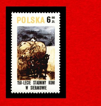 2521 зн cz** 1980 Серакув лошади доставка товаров из Польши и Allegro на русском