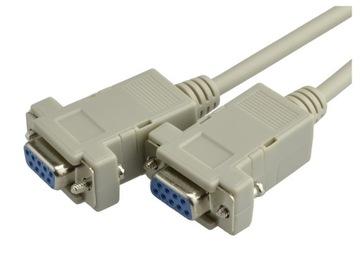 Кабель кабель НУЛЬ-модемный DSUB 9pin RS232 COM-1,8 м доставка товаров из Польши и Allegro на русском