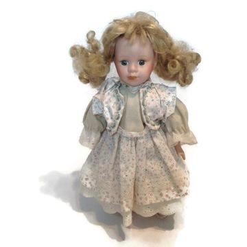 Кукла фарфоровая коллекционная блондинка /7 доставка товаров из Польши и Allegro на русском