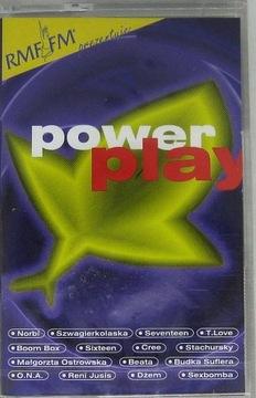 V/A-POWER PLAY [картридж] НОВАЯ ПЛЕНКА доставка товаров из Польши и Allegro на русском