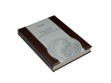 АЛЬБОМ КЛАСТЕР на монеты 2 злотых и 5 злотых 1995-2040 КОЖА доставка товаров из Польши и Allegro на русском