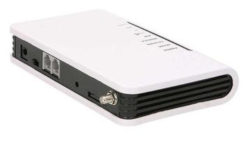 GSM шлюз со встроенным аккумулятором, 2 выхода доставка товаров из Польши и Allegro на русском