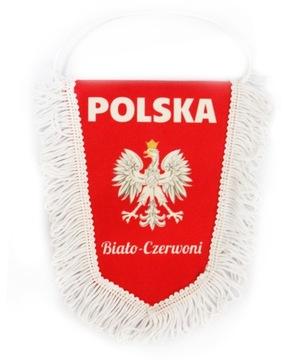 ВЫМПЕЛ ПОЛЬША ЭМБЛЕМА 15x20 см Сувенир из Польский доставка товаров из Польши и Allegro на русском