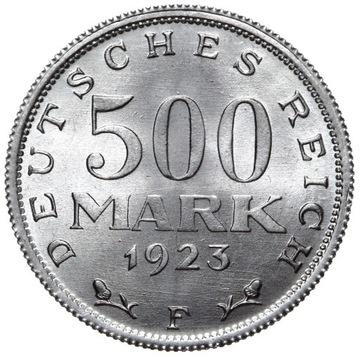 Германия 500 Марок 1923 F - MENNICZA ИЗ РУЛОНА доставка товаров из Польши и Allegro на русском