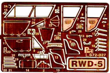 Part S72-027 1/72 RWD-5 (ZTS Пластик/MisterCraft) доставка товаров из Польши и Allegro на русском