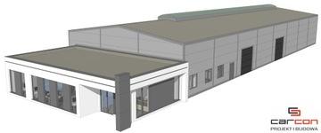 Проектирование и строительство Стадионы стальной + офисное Здание кирпичное доставка товаров из Польши и Allegro на русском