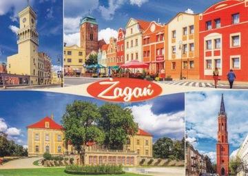 ŻAGAŃ - RATUSZ - RYNEK - PAŁAC - WIEŻA KOŚCIOŁA доставка товаров из Польши и Allegro на русском