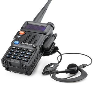 Baofeng UV-5R HT 8W Радио СКАНЕР ПОЛИЦИИ СКОРОЙ помощи доставка товаров из Польши и Allegro на русском