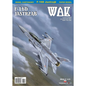 ОАК 6/18 - истребитель F-16D Block 52+ 1:33 доставка товаров из Польши и Allegro на русском