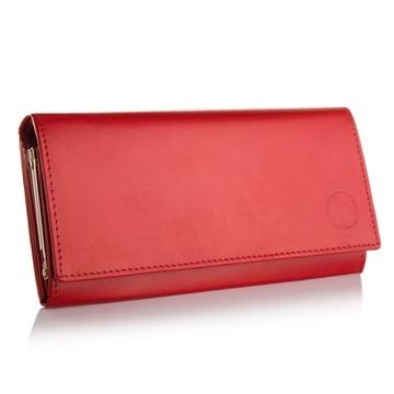 Женский кошелек BETLEWSKI кожаный на bigiel с RFID доставка товаров из Польши и Allegro на русском