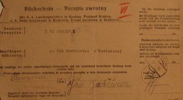 Pasieczna – 1918- stempel pocztowy Recepis доставка товаров из Польши и Allegro на русском