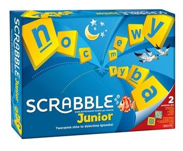 Logická hra Mattel Scrabble Junior Y9735