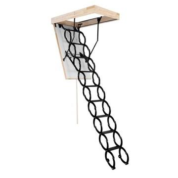 Podkrovné rebríky, nožnice sa liahnu 70x60 TERMO / OMAN