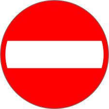Road Sign B2 600mm Žiadna vstupná faktúra