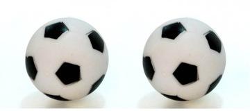 2 ks gule pre stolný futbal čierne biele gule