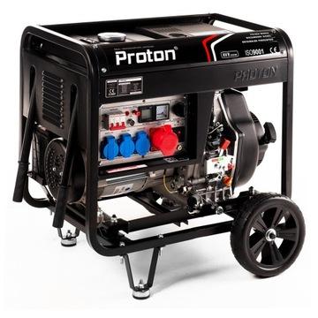 Nový generátor napájania 8.5kva 400V + AVR a diaľkové ovládače