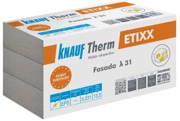 Fasáda KNAUF ETIXX 031 Grafitový polystyrén 15 cm