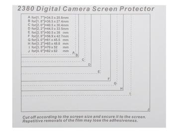 Ochranný film vytvrdený pre LCD displej