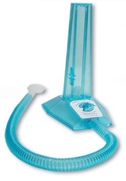 Guľový spiometr pre respiračné cvičenia