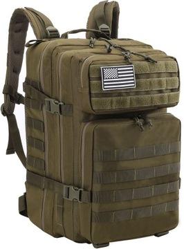 Vojenský batoh taktická vojenská kapacita 45l