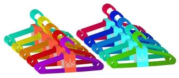 Detské oblečenie Vešiaky Malé farebné 50 ks