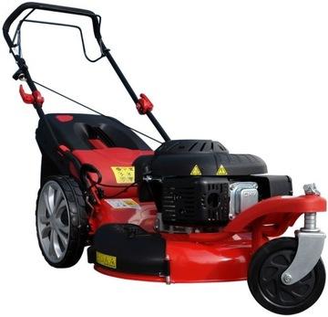 Benzínová kosačka na trávu Powertec Garden 5W1