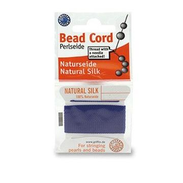 BeNic14 Шелковая нить Beadalon для жемчуга 0.9
