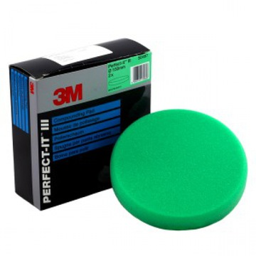 3M 50487 Perfect-it III Green 150mm Polishing Compounding Mop Pad Hook /& Loop