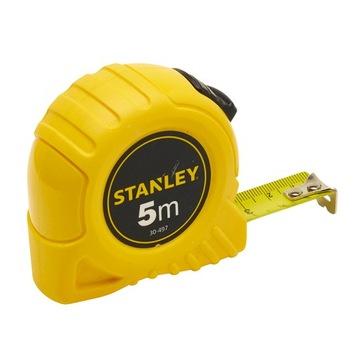 STANLEY Рулетка металлическая 5м / 19мм 30-497