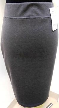 TATUUM srebrna plisowana spódnica midi 4042