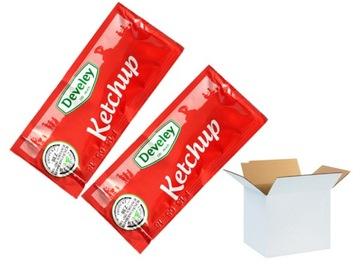 Одноразовый кетчуп в пакетиках Develey по 12 г x 50