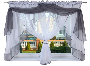 Блюда для штор 400x150 VOILE Curtain Water
