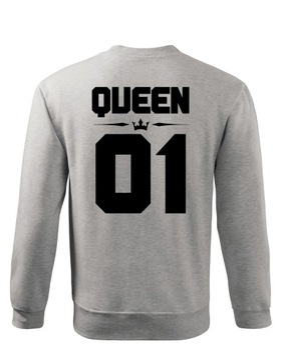 Bluza Z Napisem Queen W Bluzy Damskie Allegro Pl