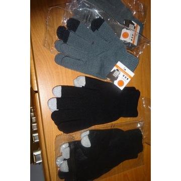 rękawiczki zimowe do urządzeń dotykowych