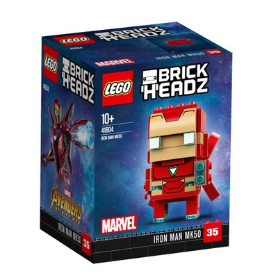 Klocki LEGO BrickHeadz Iron Man MK50 41604