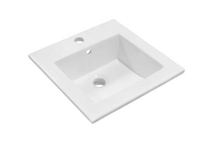 Umývadlo Keramické umývadlo 41,5 x 41,5 x 13,5 cm