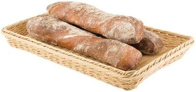 Chlieb košík, béžová, GN 1/4, výška 6,5 CM