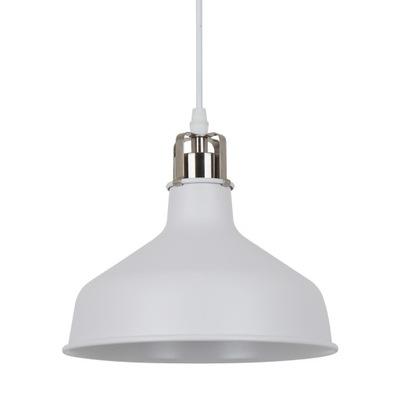 Stropné svietidlo Priemyselné HOOPER biela Italux