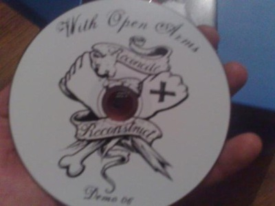 WITH OPEN ARMS - RECONCILE & RECONSTRUCT CD hc