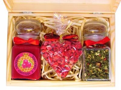 комплект мед с Фруктами сердце Из Шоколада НА подарок