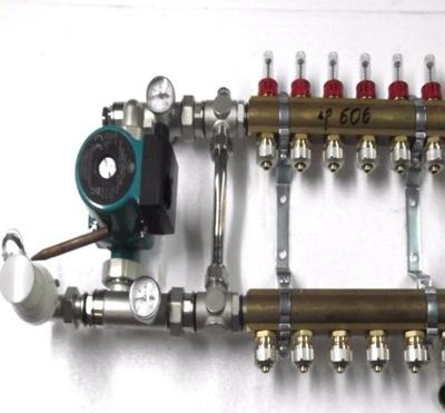 Predné podłogówki 5 čerpadla rotametry .600