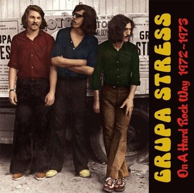 GRUPA STRESS On A Hard Rock Way (standard LP)