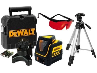 Laserový merač - DeWALT DW0811 krížový laser 360 + okuliare + TRIPOD