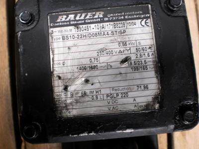 motoreduktor 19 obr silnik elektryczny 0.6  kw
