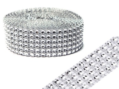 лента DIAMOND пояс стразами 3 см 4 ,5 метров