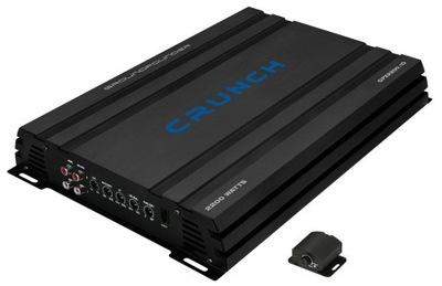 UltraMocny Crunch GPX2200.1D 1100W RMS + STEROWNIK